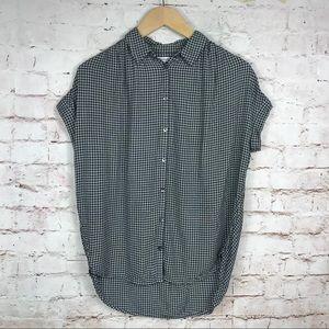 Madewell Central Shirt Plaid Check Sz XXS